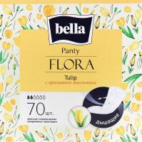 Прокладки щоденні гігієнічні Tulip Flora Panty Bella 70шт