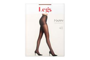 Колготки жіночі Legs Happy №102 40den 1/2 amber
