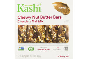 Kashi Chewy Nut Butter Bars Chocolate Trail Mix - 5 CT