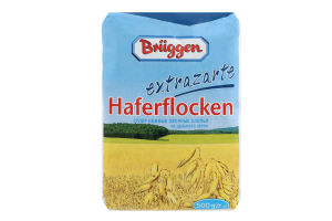 Пластівці вівсяні з цільного зерна Bruggen м/у 500г