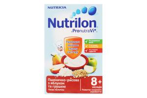 Каша Nutricia Nutrilon молоч.пшенич.-рис. ябл.-груша225г х14