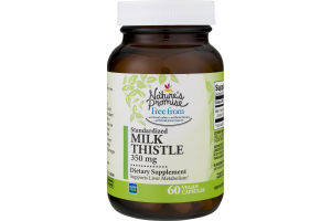Nature's Promise 350mg Milk Thistle - 60 CT