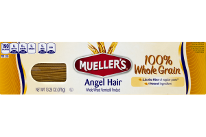Mueller's 100% Whole Grain Angel Hair Pasta