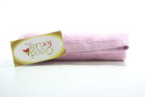Полотенце махровое S.lilac Good for Life 50*70
