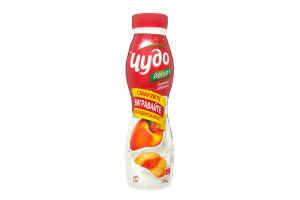 Йогурт 2.5% Персик-абрикос Чудо п/бут 270г