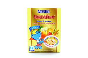 Каша Nestle з фруктами і полуницею 200г х9