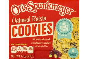 Otis Spunkmeyer Oatmeal Raisin Cookies - 6 CT