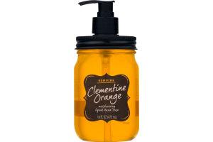 Genuine Clementine Orange Moisturizing Liquid Hand Soap