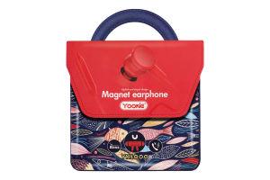 Навушники червоні YK1000 Yookie 1шт