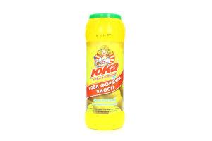 Средство для чистки поверхностей с ароматом лимона Юка 500г