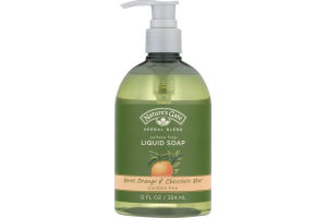 Nature's Gate Herbal Blend Liquid Soap Neroli Orange & Chocolate Mint