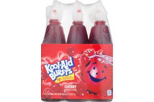Kool-Aid Bursts Soft Drink Cherry - 6 PK