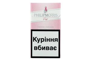 PHILIP MORRIS PINK 100 DSP 20 SSL