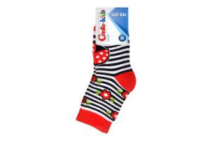 Шкарпетки дит. SOF-TIKI 7С-46СП, р.14, 246 червоний 1 шт