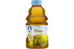 Gerber Juice From Concentrate Pear