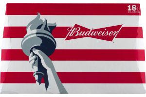 Budweiser Beer - 18 PK