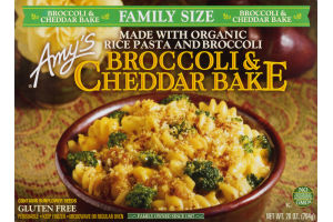 Amy's Broccoli & Cheddar Bake