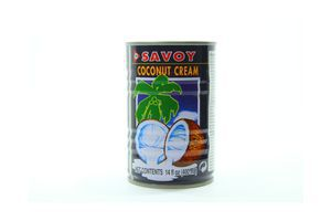 Сливки кокосовые ж/б 0,4 кг.