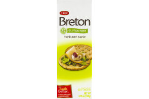 Dare Breton Gluten Free Herb and Garlic Crackers