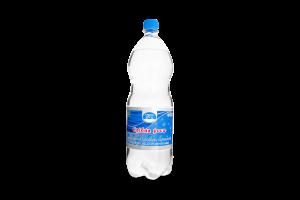 Вода питна оброблена сріблом і уф-опроміненням газована Срібна роса п/пл 1.5л