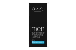 Крем для обличчя зволожуючий Men Ziaja 50мл