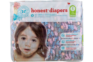 The Honest Co. Honest Diapers Butterfly Fields Size 5 - 25 CT