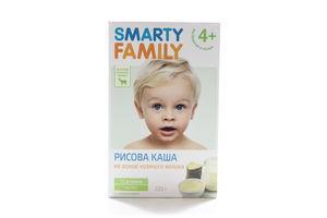 Каша рисовая Smarty Family на козьем молоке 225 г