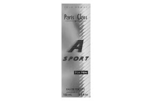 Paris Class A Sport т/вода чоловіча 100мл