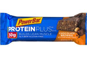 PowerBar 30g Protein Plus Bar Chocolate Brownie