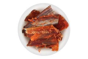Путассу солено-сушеная филе Янтарная с перцем Вогні Гестії 1кг