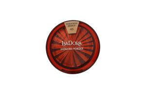 Пудра компактная Bronzing №43 Isadora 10г