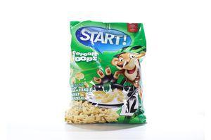 Завтраки сухие 4 видов зерновых глазированные Колечки Start! м/у 500г