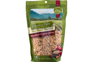 Cascadian Farm Organic Farm Stand Harvest Cherry, Almond & Quinoa Granola