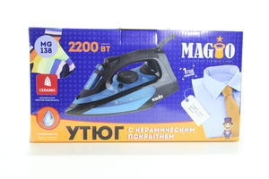 Праска Magio МG-138 2200Вт керам.пар.уд.