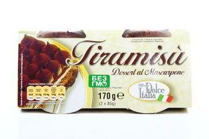 Десерт Dolce Italia Tiramisu 45% 2*85г Італія