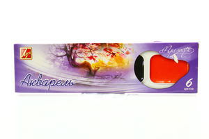 Фарби Луч Преміум акварель 6 кольорів