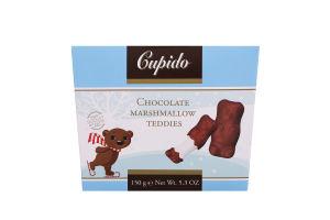 Маршмеллоу бельгійські з молочним шоколадом Teddies Cupido к/у 150г