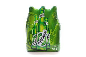 Пиво Tuborg Green светлое ст/б 4,6% 6*0,5л Акция
