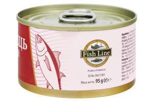 Тунець Fish Line цілий 95г х12