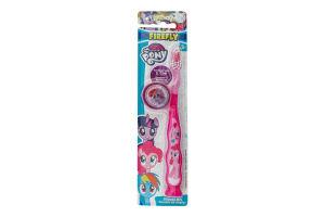 My Little Pony зубна щітка м'яка з тримачем