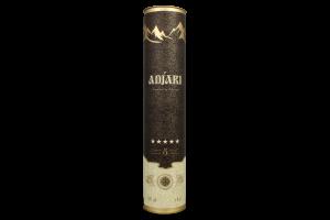 Коньяк 0.5л 40% ординарний П'ять зірочок Adjari туб