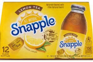 Snapple All Natural Lemon Tea - 12 PK