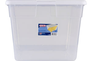 Sterilite Storage Box 56 Qt. White