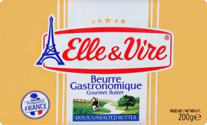Масло 82% вершкове несолоне Elle&Vire м/у 200г