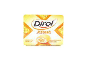 Жув.гумка Dirol X-Fresh мандарин 18г