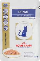Корм д/кот Royal Canin RENAL FELINE CHICKEN Pouch