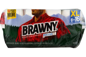 Brawny Pick-A-Size Paper Towels - 8 CT