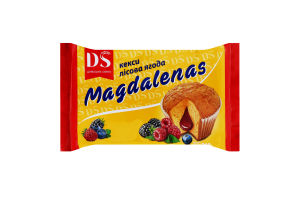 Кексы Лесная ягода Magdalenas Домашнє свято м/у 210г