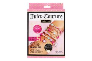 Міні-набір для дітей від 8років для створення шарм-браслетів №MR4433 Сонячне сяйво Juicy Couture Make It Real 1шт