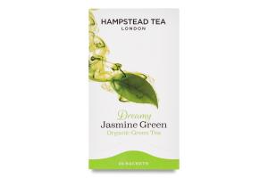 Чай зеленый Hampstead tea с ароматом жасмина